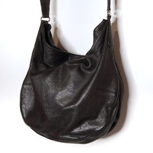 Club Monaco | Genuine Leather Shoulder Bag